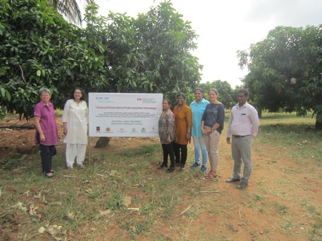 Canadian High Commissioner\'s visit to ITI Project site in Dambulla on 16th July 2015