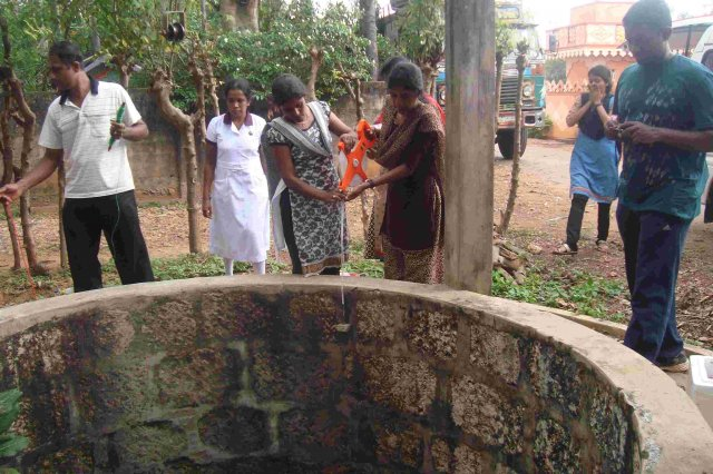 Jaffna Chunnagam visit for the testing of ground water and soil quality  - 08th February 2015